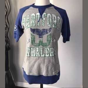 Cute! NHL S Hartford Whalers Mitchell & Ness Crew